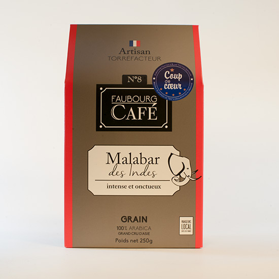 Café Malabar des Indes grains