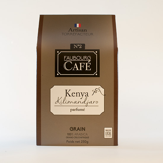 café Kenya Kilimandjaro en grain