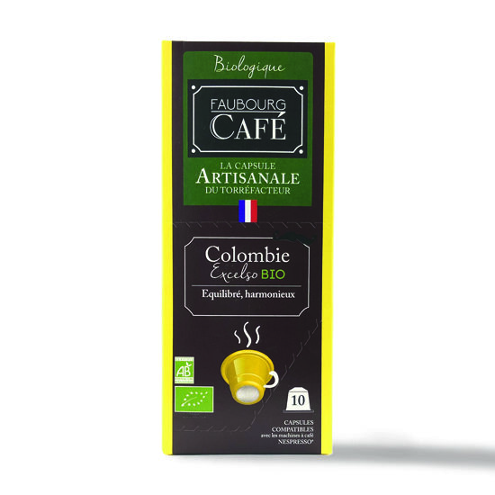 Capsules Colombie Bio