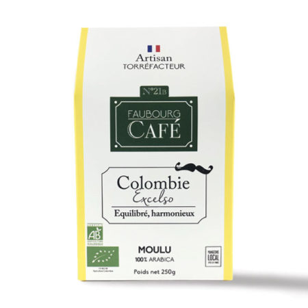 Colombie Excelso Biologique moulu