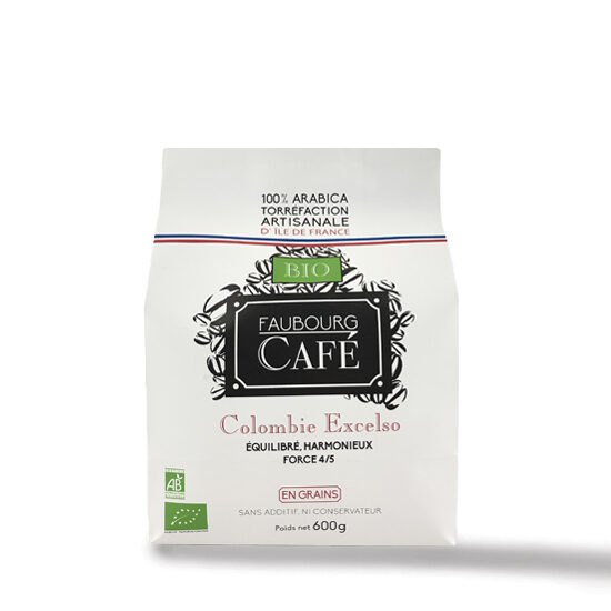 Colombie Excelso Biologique 600g